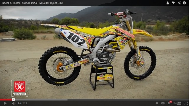 Here is a update to the RMZ450 we recently shot. Look for it in print, in the next issue of Racer X.