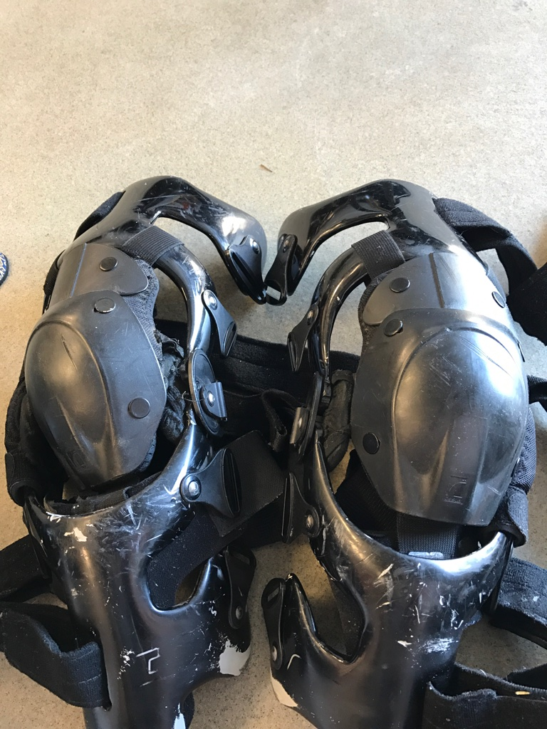 For those guys with CTI braces and really like them like as much as we do, there is now an option for more full coverage knee pad protection.  I have a bit more than a year on ours and they are holding...