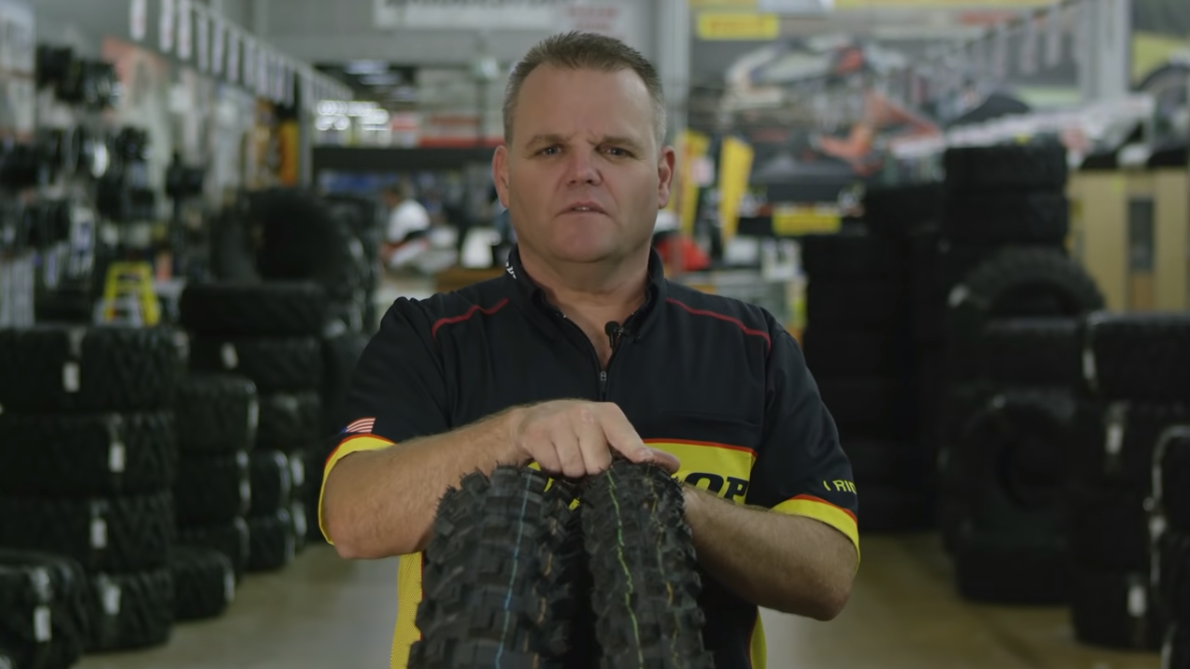 Here is some Dunlop Tire Tech info we shot with Vital MX