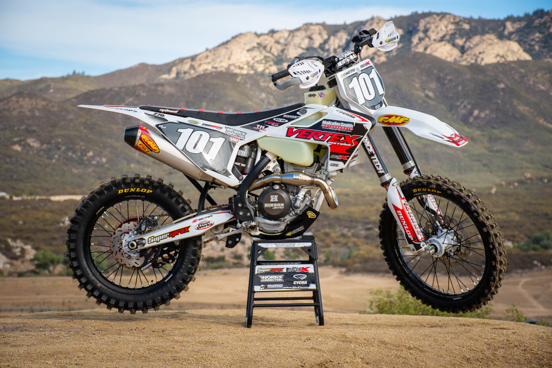 Here is a great story that went up on Racer X. Check out this video!