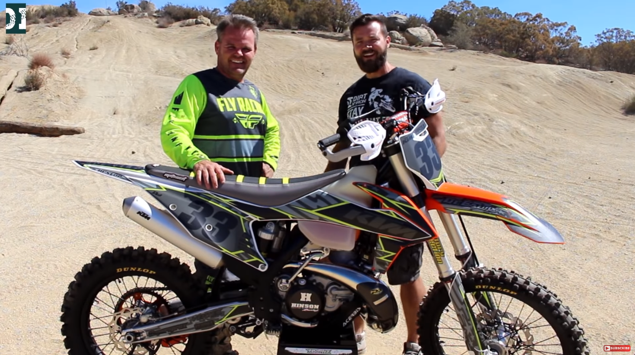Here is a video with Dirt N Iron on the 2019 KTM 300XC