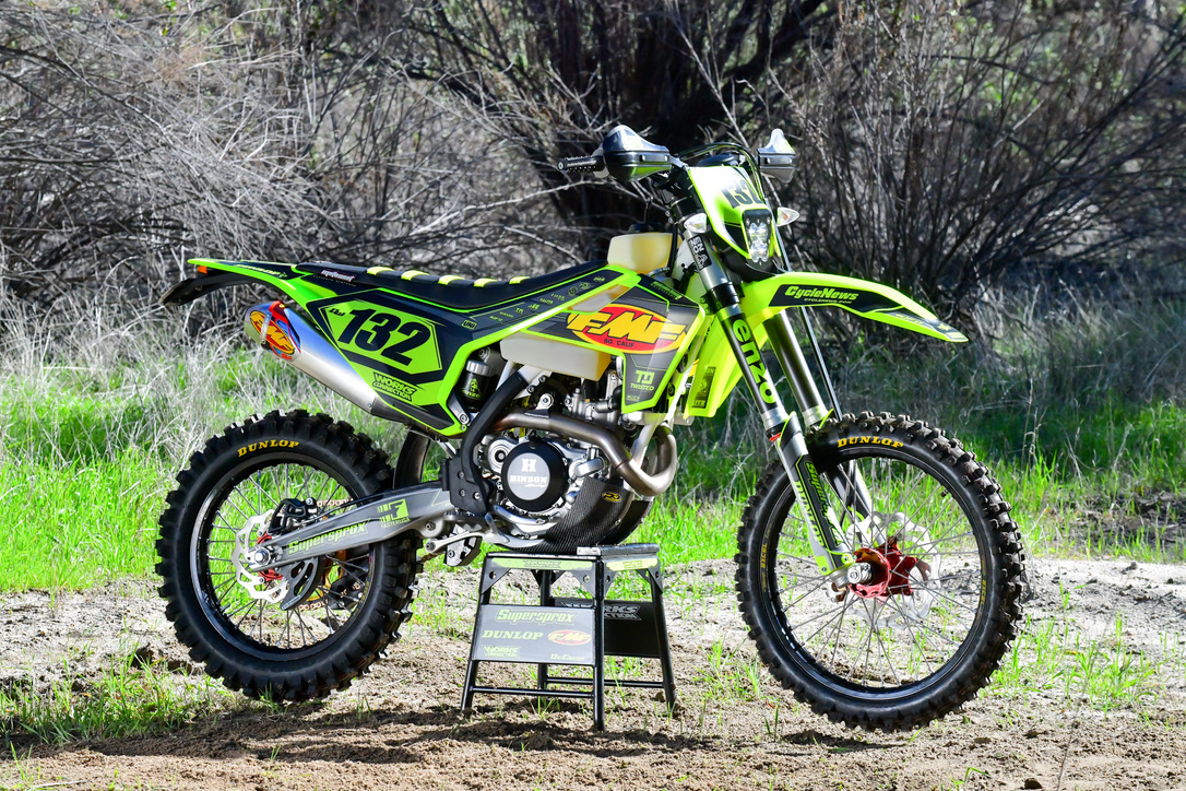 Check out the story on this 2018 Husqvarna FE 501 in the May issue of Cycle News