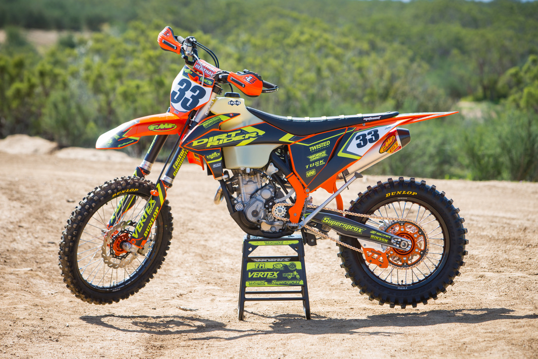 Check out this new story on the Dirt Rider website for a 2019 KTM 350 XC-F build!