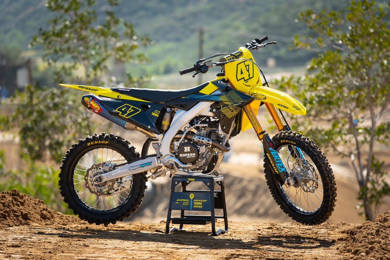 Check out this new story in Racer X Magazine on a 2019 Suzuki RM-Z250 build.