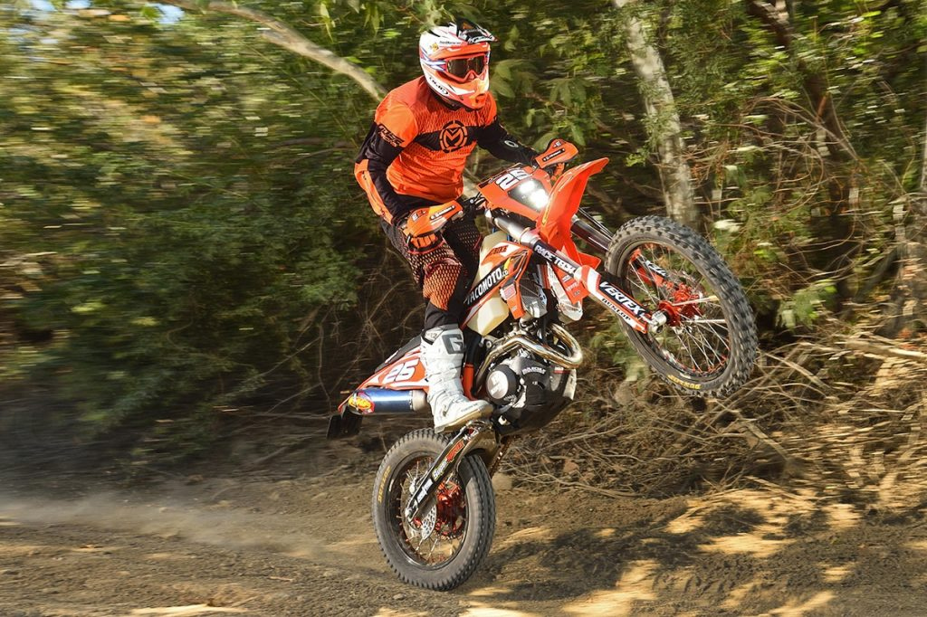 Here is a great story in the January issue of Dirt Bike Magazine